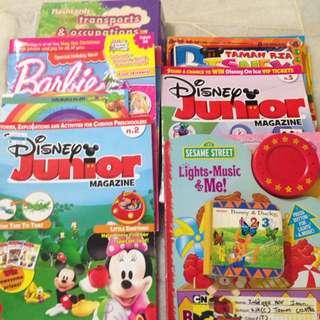 FREE - (Charity) - Bundle Of Story Books & Magazine