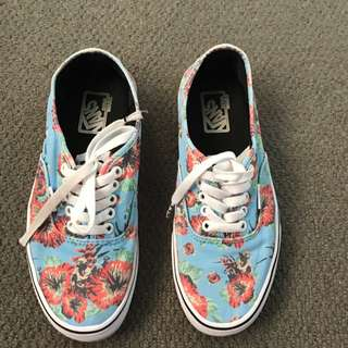 Star Wars x Vans Authentic Yoda Aloha Shoes