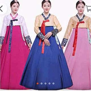 Korean Traditional Dress (for sale/for rent) 韩国传统服装(可租可卖)