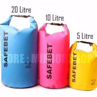 {BN for Sale] Waterproof Safebet Dry Bag 5L/10L/20L-CLEARANCE SALE