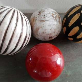 Assortment Of Decorative Balls
