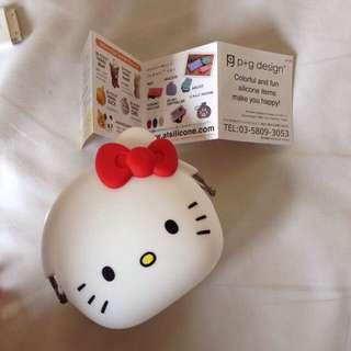 Hello Kitty Silicone Purse