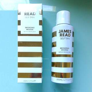 James Read Self Tanning Mousse