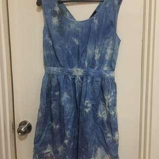 F&h Soft denim Dress