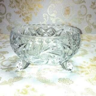 Wedding Door Gift -- Crystal Bowl