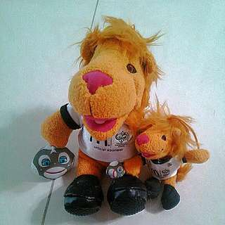2006麥當勞德國冠軍足球娃娃