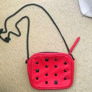 Vans Funky Red Side Bag