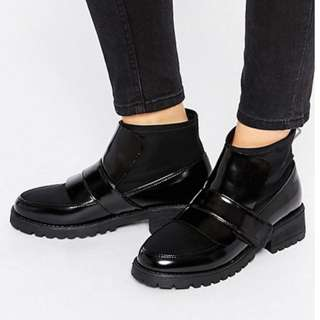 ASOS ABYSS Chunky Sock Boots