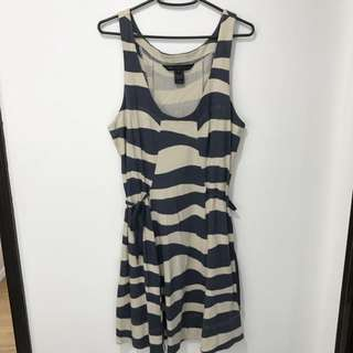 Marc Jacobs White & Blue Dress