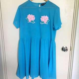 Lazy oaf Rose Sheer Dress
