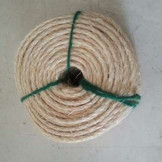 NEW and RESTOCKED Sisal Rope diameter 6mm, length 45-50m