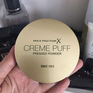 Set Powder Max Factor