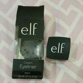 Elf Cream Eyeliner Black