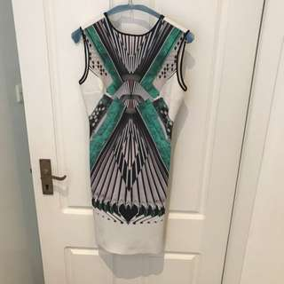 Clover Canyon Accordion Neoprene Dress
