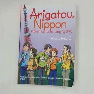 Buku Novel Arigatou Nippon