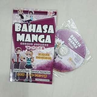 Buku Bahasa Manga Jepang
