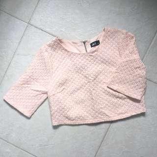 Coral Pink Crop Too