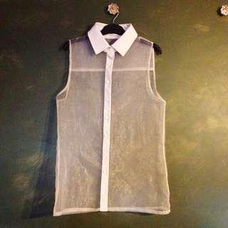 Mossman Sheer Shirt - Size 12