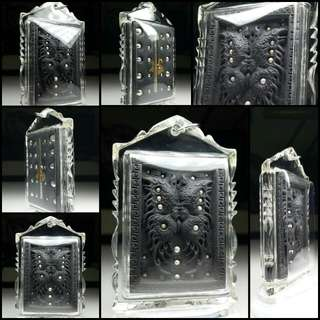 Amulet casing - Standard Waterproofing encasing in Clear Transparent acrylic