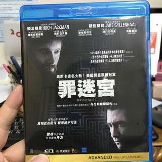Blu-ray 藍光碟 罪迷宮 Prisoners Hugh Jackman 曉治積曼