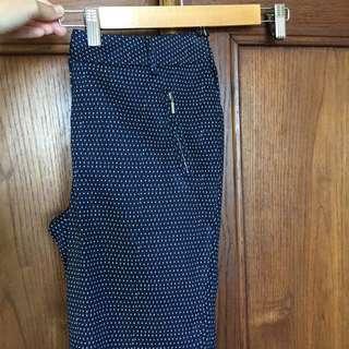 Portmans BNWT Blue Polka-dot Pants