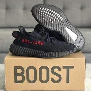 Adidas Yeezy Boost 350 V2 BRED US10!