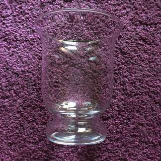 Glass Candle Holder / Vase