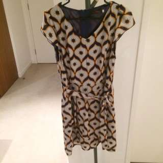 Short Dress With African Patterns