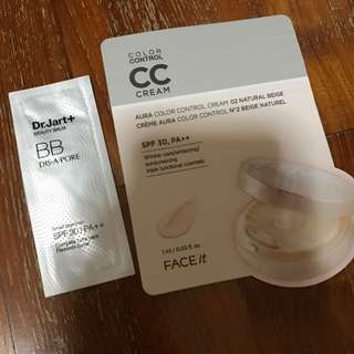 FREE CC BB Creams