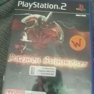 Daemon Summoner Ps2