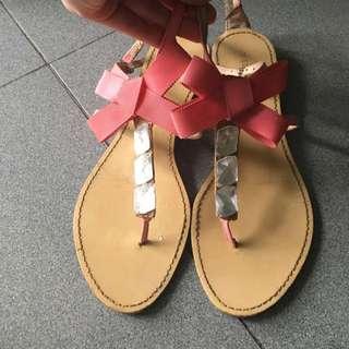 Vincci Pink Bow Shoe