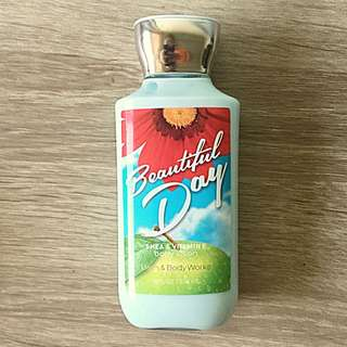 New Bath & Body Body Works Beautiful Day Body Lotion
