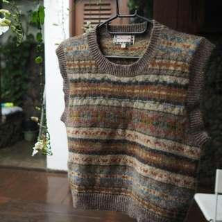 Winter Wool Vest