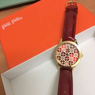 Follow Follie New Leather Watch
