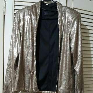 Kardashian Collection Gold Jacket