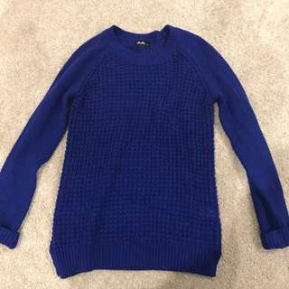 Dotti Royal Blue Knit Jumper