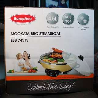Europace Electric Mookata Steamboat and BBQ ESB 7451S