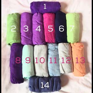 BN Solid Color Tula Blankets