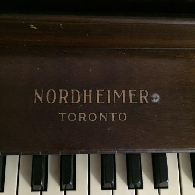 1923 Nordheimer Piano