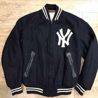 Mitchell&Ness 洋基  純羊毛 內舖毛 棒球外套