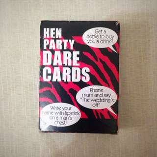Party Dare Cards
