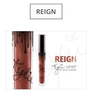 Reign Metallic Matte Kylie Cosmetics
