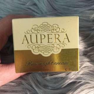 BNIB Aupera Rose Night Cream 50g