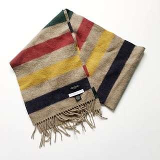 HBC x Johnstons Of Elgin Virgin Wool Scarf