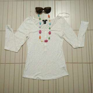 Cotton Long-sleeved
