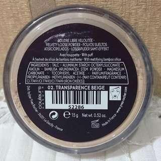 Yves Rocher Powder No: 02 Transparence Beige - Bedak Wajah Natural