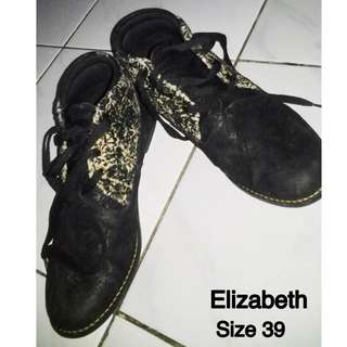 Elizabeth Black Shoes