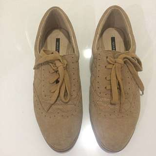 Forever21 Oxford Suede Shoes