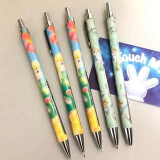 《日本直送》Disney 小仙女 Tinker Bell 日本制 鉛蕊筆 原子筆 優雅美態 Pen Pencil 包郵寄 Peter Pan