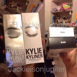 Snow Kyliner And Limited Edition Plush Holiday Stocking + Saharan Gel Liner Kit